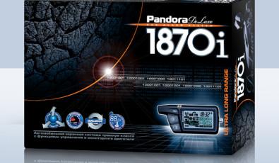 Pandora DeLuxe 1870i-mod